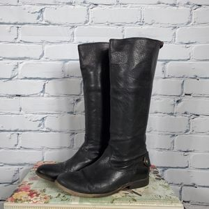 Frye Melissa Button Back Zip Riding Boots